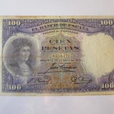 Spania 100 Pesetas 1931
