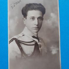 POZA VECHE Portret ofiter  × 1924