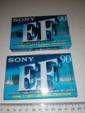 Cumpara ieftin LOT 2 CASETE / CASETA AUDIO SIGILATE SONY EF 90