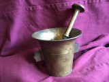 Decor / Design / Vintage - Vechi mojar cu pistil din bronz model interesant !