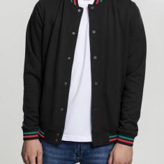 3-Tone College Sweat Jacket