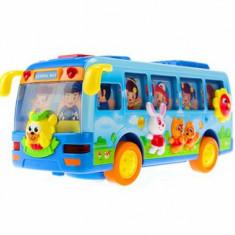 Autobuz dansator cu lumini si sunete