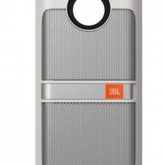 Boxa Portabila JBL Sound Boost Moto Mods pentru Motorola Moto Z, Bluetooth (Alb)