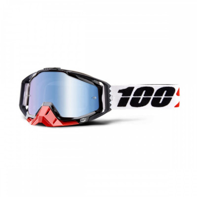 Ochelari ATV/cross 100% Racecraft Marigot, sticla albastra Cod Produs: MX_NEW 26012517PE foto