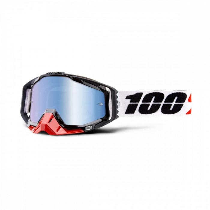 Ochelari ATV/cross 100% Racecraft Marigot, sticla albastra Cod Produs: MX_NEW 26012517PE