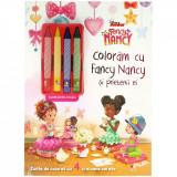 Disney. Fancy Nancy. Colorăm cu Fancy Nancy și prietenii ei (conține 4 creioane cerate)