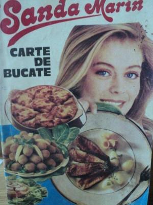 CARTE DE BUCATE - SANDA MARIN, BUC 1996 foto