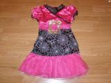 costum carnaval serbare vrajitoare paianjen barbie pentru copii de 4-5-6 ani