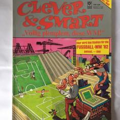 Revista benzi desenate (comic) Clever and Smart, in germana, format mare