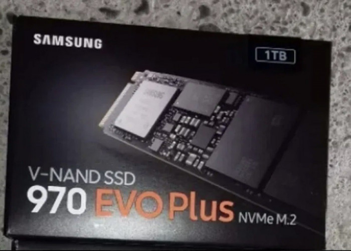 SSD Samsung 970 EVO Plus  1TB PCI Express x4 M.2 2280 -sigilat, nou