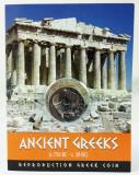 """Monedă Grecia Antică din Corint, drachma - """"Corinthian Didrachm"""", reproducere"""