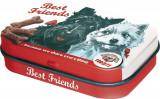 Cutie metalica cu bomboane - Best Friends