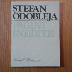 PAGINI INEDITE-STEFAN ODOBLEJA,1989