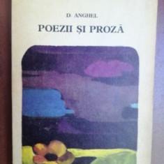 Poezii si proza- D. Anghel