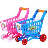 Carucior cumparaturi supermarket de jucarie pentru copii cu 37 accesorii