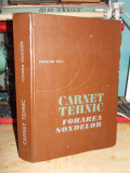 GRIGORE TATU - CARNET TEHNIC_FORAREA SONDELOR , 1983