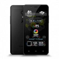 Telefon mobil Allview P4 Pro, 1GB RAM, 8GB ROM, Android 7.0, Quad Core, Dual Sim