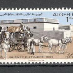 Algeria.1969 Ziua marcii postale  SX.182