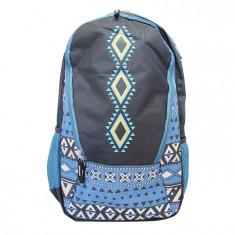 Ghiozdan gimnaziu Pigna tribal albastru MCRS1878-5
