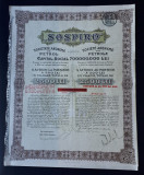Actiuni petrol 1923 - SOSPIRO - titlu - actiune