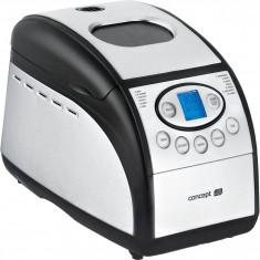 Masina de paine Concept PC5060, 800W, 1300 g, 12 programe, forme de baghete, Inox