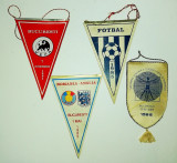 Lot 4 fanioane sport fotbal 1984-1985 Nationala Dinamo club