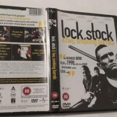 [DVD] Lock Stock and Two Smoking Barrels - film original pe DVD