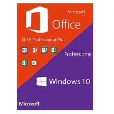 Microsoft Windows 10 Pro + Microsoft Office 2019 Pro Plus