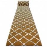Traversa Sketch - F343 aur și crem marocani Trellis, 100 cm