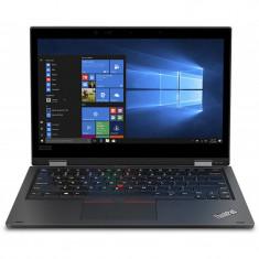 Laptop 2-in-1 Lenovo 13.3'' ThinkPad L390 Yoga, FHD IPS Touch, Intel Core i5-8265U , 8GB DDR4, 512GB SSD, GMA UHD 620, Win 10 Pro, Black