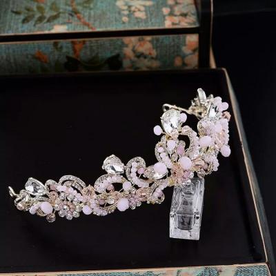Diadema/tiara/coronita roz foto