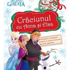 Disney. Crăciunul cu Anna şi Elsa. Regatul de gheață (decorațiuni)