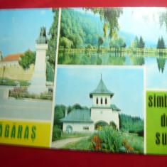 Ilustrata Fagaras si Sambata de Sus -cu 3 vederi-