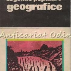 Legende Populare Geografice - Nicoleta Coatu