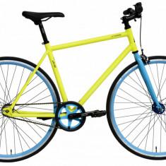 Bicicleta Oras Dhs Fixie 2896 495Mm Galben Albastru 28 Inch