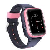 Cumpara ieftin Ceas Smartwatch Pentru Copii, Wonlex KT15, Roz, SIM card, 4G, Rezistent la apa IP54, Apel video