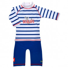 Costum de baie SeaLife blue marime 98- 104 protectie UV Swimpy for Your BabyKids