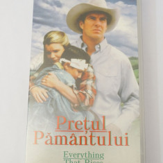 Caseta video VHS originala film tradus Ro - Pretul Pamantului