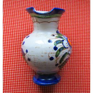 Ulcior Majolica Deruta Sgraffito, H 20 cm/1055 gr.Datare: inainte de 1974.