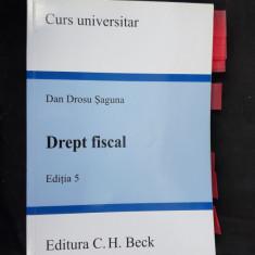 DREPT FISCAL  - DAN DROSU SAGUNA