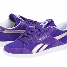 Adidasi casual femei Reebok Classic Fabulista rich purple-glitz met-white V53254