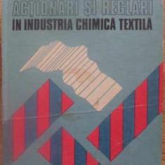 ACTIONARI SI REGLARI IN INDUSTRIA CHIMICA TEXTILA - F. VALU, C. VALU