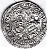 Austria Graz 3 Kreuzer 1701 IA argint, Leopold,moneda din salba