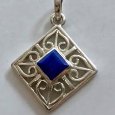 Argint PANDANTIV CU LAPIS LAZULI
