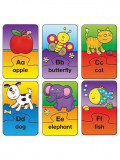Set 26 de puzzle-uri Alphabet (2 piese) PlayLearn Toys, Galt