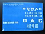 Caiet Tehnic / Instructiuni de Utilizare: Roman Diesel si DAC (1972)