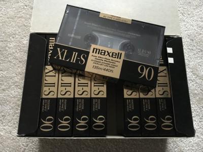 Casetă audio Maxell XL II-S foto