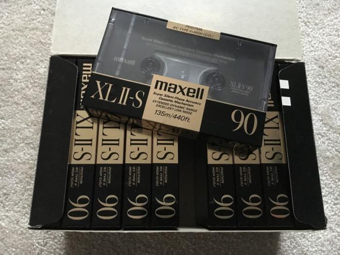 Casetă audio Maxell XL II-S