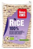 Rondele subtiri rectangulare din orez expandat fara sare bio 130g
