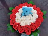 Trandafiri de sapun cu ursulet